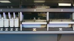 Analysis of bio materials Stock Footage