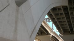 Underneath of  Wilson Bridge Stock Footage