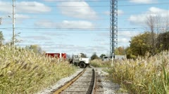 Rushes and tracks HD - stock footage