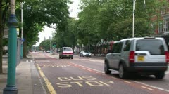 Southport Lord Street Stock Footage