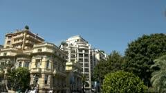 monte carlo street - stock footage