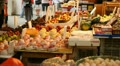 Hong Kong Market Street, Meat, Fruits, Clothes, Fish, Vegetables, Chinese HD Footage
