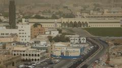Amiri Diwan, Souq Waqif, Old Marketplace, Qatar, Doha Corniche Stock Footage