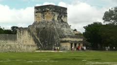 Chichen Itza Mexico Yucatan handheld Stock Footage