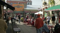 Findlay Market Cincinnati - stock footage
