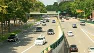 Storrow drive traffic Boston; 2 Stock Footage