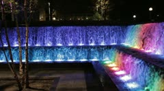Cincinnati fountains - stock footage