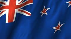 Tokelau Waving Flag Stock Footage