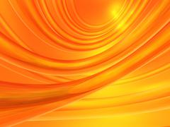 orange abstract background - stock illustration