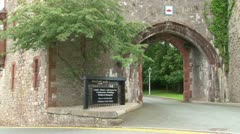 Ruthin Castle Stock Footage