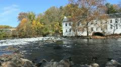 Delaware Brent's Mill Brandywine Stock Footage