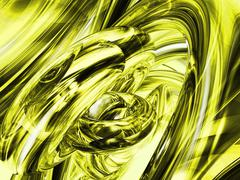 yellow abstract background - stock illustration