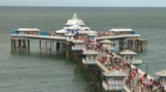 Stock Video Footage of Seaside Pier Head