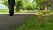 Walking path Boston; 8 Stock Footage