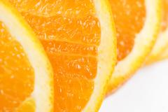 orange slice texture - stock photo