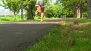 Walking path Boston; 6 Stock Footage