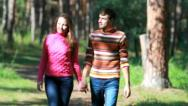 Charming couple Stock Footage