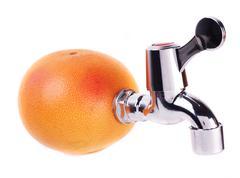concept juice - stock photo