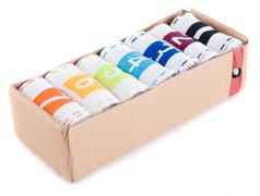 Seven socks Stock Photos