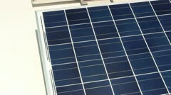 Photovoltaic's on rooftop; 2 Stock Footage