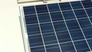 Stock Video Footage of Photovoltaic's on rooftop; 2