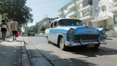 Stock Video Footage of Cuba cars