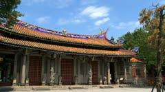 Taipei Confucius temple Stock Footage