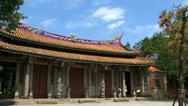 Stock Video Footage of Taipei Confucius temple