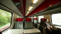 Geneva - train Stock Footage