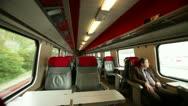 Stock Video Footage of Geneva - train