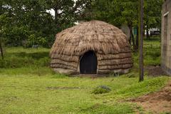 Zulu Hut Stock Photos