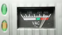 Voltmeter Stock Footage