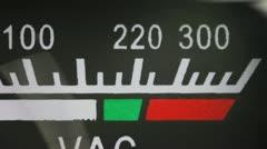 Voltmeter Stock Footage