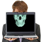 Damaging effects of computers Stock Photos