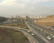 Iran  36 tehran road Stock Footage