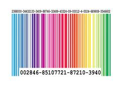 BarCodeColour.jpg - stock illustration