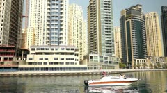 Luxury Life in Dubai Stock Footage