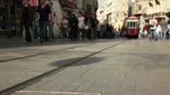 Tram 6 Stock Footage