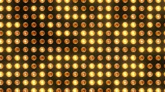 Orange Light pulse - stock footage