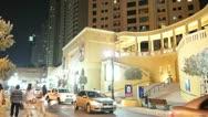 Nightlife in Marina Stock Footage