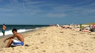 Stock Video Footage of Race point beach Provincetown Cape Cod