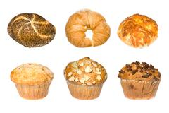 Bakery montage Stock Photos