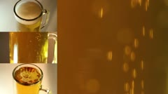 Beer Montage One Stock Footage