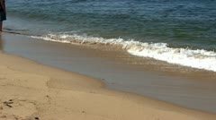 Waves at race point beach Provincetown Cape Cod; 3 Stock Footage