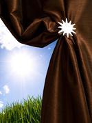 Avaamisesta aurinko Kuvituskuvat