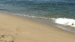 Waves at race point beach Provincetown Cape Cod; 4 Stock Footage