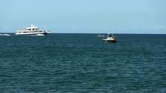 Whale watch boat Provincetown Cape Cod; 2 Stock Footage