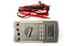 multimeter - stock photo