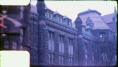 MUSEUM NATURAL HISTORY NYC 1950s (Vintage Film Retro Home Movie) 4728 Stock Footage