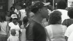 African Americans Stock Footage